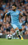 Sergio Aguero of Manchester City during the English Premier League match at the Etihad Stadium, Manchester. Picture date: May 16th 2017. Pic credit should read: Simon Bellis/Sportimage