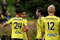 Football - Phoenix v Team Wellington at Martin Luckie Park, Berhampore, Wellington, New Zealand on Saturday 30 September 2017.<br /> Photo by Masanori Udagawa. <br /> www.photowellington.photoshelter.com