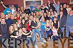 Party Time - Kevin O'Connor Jnr. from Ballyduff, seated centre having a ball with friends and family at his 18th birthday party held in Lowe's Bar, Ballyduff on Saturday night.......................................................................................................................................................................................................................................................................................................... ............