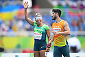 Terezinha Guilhermina (BRA), <br /> SEPTEMBER 8, 2016 - Athletics : <br /> Women's 100m T11 Preliminary Round <br /> at Olympic Stadium<br /> during the Rio 2016 Paralympic Games in Rio de Janeiro, Brazil.<br /> (Photo by AFLO SPORT)