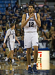 A photograph taken during the Colorado Christian at Nevada men's basketball game played on Wednesday night, October 30, 2019 at Lawlor Events Center in Reno.