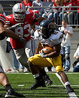 13 October 2007: Kent State running back Eugene Jarvis (6)..The Ohio State Buckeyes defeated the Kent State Golden Flashes 48-3 on  October 13, 2007 at Ohio Stadium, Columbus, Ohio.