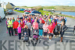 FINEDAY:Taken adavantage of the fine weather the Ballyduff branch of the Kerry Hospice Foundation held their annaul Good FRiday Walk from The Cashen Pier in Ballyduff.