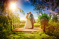 We found a lovely bridge overlooking the picturesque Millrace River in Cambridgeshire to capture this beautiful photo.