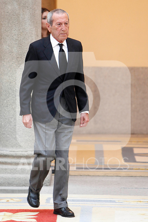 Elio Berhanyer attend the National Awards of Culture 2011 and 2012 at Palacio de El Pardo. February 19, 2013. (ALTERPHOTOS/Caro Marin)