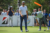 Dustin Johnson (USA) heads down 13 during 2nd round of the World Golf Championships - Bridgestone Invitational, at the Firestone Country Club, Akron, Ohio. 8/3/2018.<br /> Picture: Golffile | Ken Murray<br /> <br /> <br /> All photo usage must carry mandatory copyright credit (© Golffile | Ken Murray)