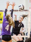 Volleyball: Bentonville vs Fayetteville