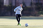 MARIETTA, GA - DECEMBER 06: Atlanta United FC Miguel Almiron. The MLS Cup 2018 Team Training Sessions were held on December 6, 2018 at the Children's Healthcare of Atlanta Training Ground in Marietta, GA.