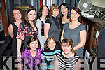 Girls' Night Out - Having a wonderful Little Christmas in Bailey's Corner on Sunday night were seated l-r: Ann Roantree, Helen Hurley and Marie Hanafin. Standing l-r: Geraldine Hurley, Gemma Faulkner, Aine Murray, Honor Hurley, Noelle Barrett and Aileen Riordan.   Copyright Kerry's Eye 2008