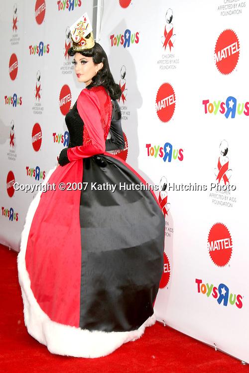 "Teri Hatcher .""Dream Halloween"" 2007 - Benefitting the charity ""Children Affected by Aids Foundation"".Barker Hanger.Santa Monica,  CA.October 27, 2007.©2007 Kathy Hutchins / Hutchins Photo...               ."
