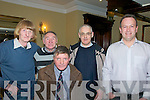 Jimmy Deenihan Celabration: Attending the celebration to honour Jimmy Deenihan's, T.D. to the office of Minister for Arts, Heritage & the Gaeltach at the Listowel Arms Hotel, Listowel on Saturday night last were David White, Brosna, Jim OShea, Brosna, Leo Griffin, Tralee, Neilus Horan, Brosna & Michael o'Shea, Abbeyfeale.