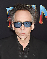 HOLLYWOOD, CA - MARCH 11: Director Tim Burton attends the premiere of Disney's 'Dumbo' at El Capitan Theatre on March 11, 2019 in Los Angeles, California.<br /> CAP/ROT/TM<br /> &copy;TM/ROT/Capital Pictures