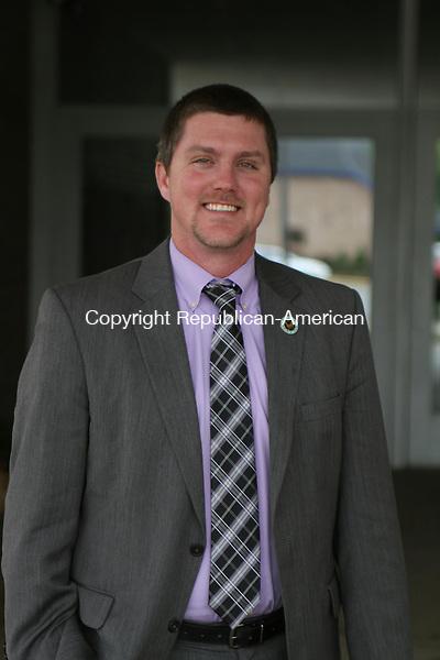 WATERTOWN, CT June 13 2014-061314LW03 - Paul Jones will start as Watertown High School's new principal July 1.<br /> Laraine Weschler Republican-American