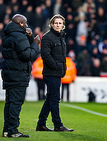 Wycombe Wanderers Manager Gareth Ainsworth during the Sky Bet League 2 match between Wycombe Wanderers and Luton Town at Adams Park, High Wycombe, England on the 21st January 2017. Photo by Liam McAvoy.