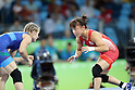 Eri Tosaka (JPN), AUGUST 17, 2016 - Wrestling : Women's Freestyle 48kg Final at Carioca Arena 2 during the Rio 2016 Olympic Games in Rio de Janeiro, Brazil. (Photo by Koji Aoki/AFLO SPORT)