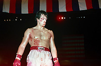 Rocky (1976) <br /> Sylvester Stallone<br /> *Filmstill - Editorial Use Only*<br /> CAP/KFS<br /> Image supplied by Capital Pictures