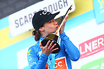 Marianne Vos (NED) CCC-Liv wins the overall classification after winning Stage 2 of the 2019 ASDA Tour de Yorkshire Women's Race, running 132km from Bridlington to Scarborough, Yorkshire, England. 4th May 2019.<br /> Picture: ASO/SWPix | Cyclefile<br /> <br /> All photos usage must carry mandatory copyright credit (© Cyclefile | ASO/SWPix)