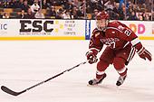 Viktor Dombrovskiy (Harvard - 27) - The Harvard University Crimson defeated the Boston University Terriers 6-3 (EN) to win the 2017 Beanpot on Monday, February 13, 2017, at TD Garden in Boston, Massachusetts.