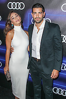 WEST HOLLYWOOD, CA, USA - AUGUST 21: Cara Santana, Jesse Metcalfe  arrive at the Audi Emmy Week Celebration held at Cecconi's Restaurant on August 21, 2014 in West Hollywood, California, United States. (Photo by Xavier Collin/Celebrity Monitor)