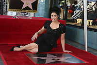 NOV 09 Sarah Silverman Honored With Star On The Hollywood Walk Of Fame