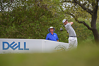 Justin Thomas (USA) watches his tee shot on 12 during day 3 of the World Golf Championships, Dell Match Play, Austin Country Club, Austin, Texas. 3/23/2018.<br /> Picture: Golffile | Ken Murray<br /> <br /> <br /> All photo usage must carry mandatory copyright credit (&copy; Golffile | Ken Murray)