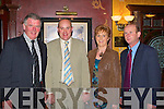 3990-3903.Denis Kelleher Rathmore, Danny Fleming Gneeveguilla, Margaret and Conor Griffin Killarney at the Irish Angus National social in the Killarney Avenue Hotel on Saturday night