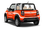 Car pictures of rear three quarter view of 2016 Citroen E-Mehari 3 Door Convertible Angular Rear