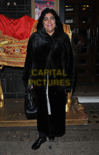 Gurinder Chadha attends the &quot;Bend It Like Beckham&quot; charity gala performance in aid of the Gynaecological Cancer Fund, Phoenix Theatre, Charing Cross Road, London, England, UK, on Friday 27 November 2015.<br /> CAP/CAN<br /> &copy;Can Nguyen/Capital Pictures