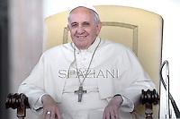 Papa Francesco Incontro con le scuole italiane. Piazza San Pietro Vaticano. 10 maggio 2014