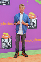 Thomas Kuc at Nickelodeon's Kids' Choice Sports 2017 at UCLA's Pauley Pavilion. Los Angeles, USA 13 July  2017<br /> Picture: Paul Smith/Featureflash/SilverHub 0208 004 5359 sales@silverhubmedia.com