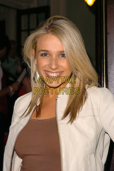 """LARA LEWINGTON.Attends the 10th Anniversary Performance of """"Fame: The Musical"""", Aldwych Theatre, London, June 27th 2005..portrait headshot.Ref: CAN.www.capitalpictures.com.sales@capitalpictures.com.©Can Nguyen/Capital Pictures"""