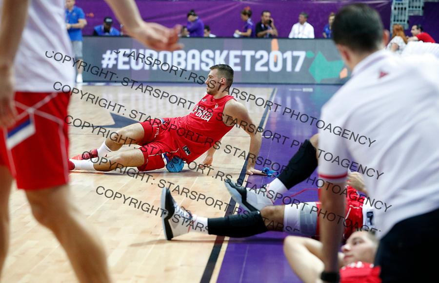 Marko Guduric European basketball championship, Evropsko prvenstvo u kosraci Eurobasket Rusija - Srbija, Russia - Serbia 02.9.2017. Istanbul, Turska, 2. Septembar 2017. (credit image & photo: Pedja Milosavljevic / STARSPORT)