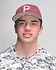 TJ Rullo of Mepham poses for a portrait during the Newsday varsity baseball season preview photo shoot at company headquarters on Thursday, Mar. 10, 2016.