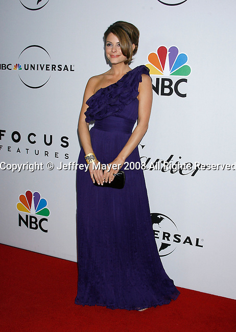 BEVERLY HILLS, CA. - January 11: TV Personality Maria Menounos attends the Universal and Focus Features After Party for the 66th Annual Golden Globe Awards held at the Beverly Hilton Hotel on January 11, 2009 in Beverly Hills, California.