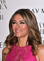 LONDON, ENGLAND - OCT 31: Elizabeth Hurley at Harper's Bazaar annual Women of the Year Awards, which celebrates female high-fliers, at Claridge's on October 31st, 2016 in London, England.<br /> CAP/JOR<br /> &copy;JOR/Capital Pictures /MediaPunch ***NORTH AND SOUTH AMERICA ONLY***