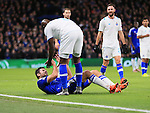 Chelsea's Diego Costa clashes with Porto's Bruno Martins Indi<br /> <br /> UEFA Champions League - Chelsea v FC Porto - Stamford Bridge - England - 9th December 2015 - Picture David Klein/Sportimage
