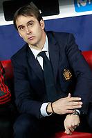 Spain's coach Julen Lopetegui during international friendly match. March 27,2018. *** Local Caption *** © pixathlon<br /> Contact: +49-40-22 63 02 60 , info@pixathlon.de