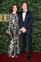Lauren Cuthbertson and Edward Watson<br /> at the Evening Standard Theatre Awards 2016, Old Vic Theatre, London.<br /> <br /> <br /> ©Ash Knotek  D3197  13/11/2016