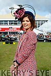 Siobhan Coakley (Glenflesk, Killarney), winner of best dressed at Ladies Day in Listowel on Friday last.