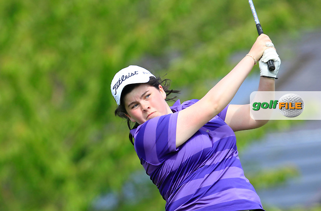 Niamh McSherry (Lurgan) on the 7th tee during Round 1 of the Irish Women's Open Strokeplay Championship at Dun Laoghaire Golf Club on Saturday 23rd May 2015.<br /> Picture:  Thos Caffrey / www.golffile.ie