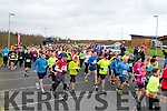The start of the Valentines 10 mile road race in Tralee on Sunday morning.