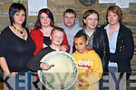 Playing some tunes at the Neilus O'Connor festival in O'Connors bar Knocknagoshel on Sunday night was l-r: Ruth O'Connor, Sinead Sheehy, Gavin O'Connor, Michael Enright, Milan Williams, Regina and Maria O'Connor    Copyright Kerry's Eye 2008