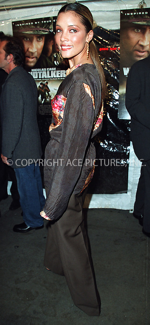 """Michael Michele arrives at the New York premiere of """"Windtalkers."""" New York, June 6, 2002. Please byline: Alecsey Boldeskul/NY Photo Press.   ..*PAY-PER-USE*      ....NY Photo Press:  ..phone (646) 267-6913;   ..e-mail: info@nyphotopress.com"""