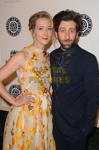 LOS ANGELES, CA - JANUARY 7: Jocelyn Towne, Simon Helberg at the The Art Of Elysium Tenth Annual Celebration 'Heaven' Charity Gala at Red Studios in Los Angeles, California on January 7, 2017. <br /> CAP/MPI/DE<br /> &copy;DE/MPI/Capital Pictures