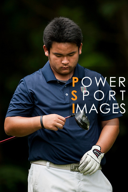 Lawrence Ting of Chinese Taipei in action during the 9th Faldo Series Asia Grand Final 2014 golf tournament on March 19, 2015 at Faldo course in Mid Valley clubhouse in Shenzhen, China. Photo by Xaume Olleros / Power Sport Images