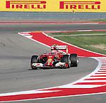 Formula 1 United States Grand Prix 2014, 31.10.-02.11.14<br /> Kimi Raikkonen (FIN#7), Scuderia Ferrari<br /> Foto &copy; nordphoto /  Bratic