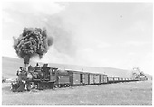 Engine 223 on freight, helper on rear.  Approaching Castleton.<br /> D&amp;RGW  near Castleton - Baldwin Branch, CO  Taken by Thode, Jackson C. - pre 1941