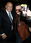 WEST HOLLYWOOD, CA. - February 08: Doug Morris, Chairman and CEO of Universal Music Group and Musician Bono of U2 attend the Universal Music Group Chairman Doug Morris' Grammy Awards Viewing Dinner at The Palm on February 8, 2009 in West Hollywood, California.
