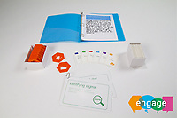 Engage, a group project by Hermione Townsend, Ralf Josef, Daniel Coppen and Florencia Sepulveda, provides a set of toolkits to raise awareness of mental health in different culturally specific contexts.