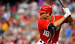 9 July 2011: Washington Nationals infielder Danny Espinosa in action against the Colorado Rockies at Nationals Park in Washington, District of Columbia. The Nationals were edged out by the Rockies 2-1, dropping the second game of their 3-game series. Mandatory Credit: Ed Wolfstein Photo